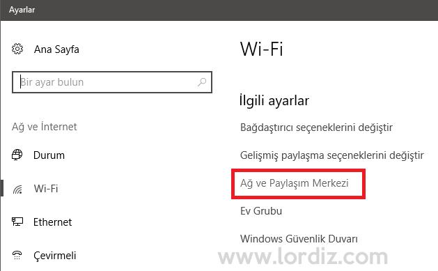 windows10 dns2 - Windows 10'da Dns Nasıl Değiştirilir?