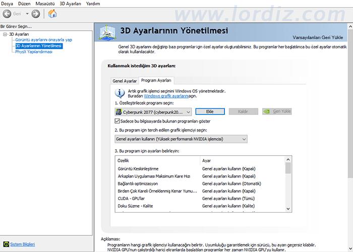 windows10 ekran karti secimi - Windows 10'da Oyun ve Uygulamanın Kullanacağı Ekran Kartını Seçmek!