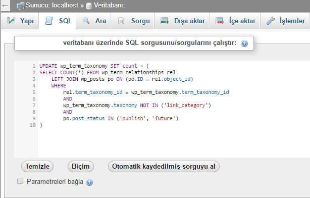 Wordpress Kategorilerde Yazı Sayıları Sıfır (0) Görünüyorsa! - web-master