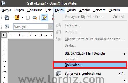 """Open Office - Libre Office: """"Salt okunur içerik değiştirilemez"""" - windows-destek"""