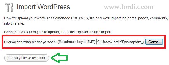 ws4 - Bloggerdaki Yazılarımızı Wordpress'e Aktarmak