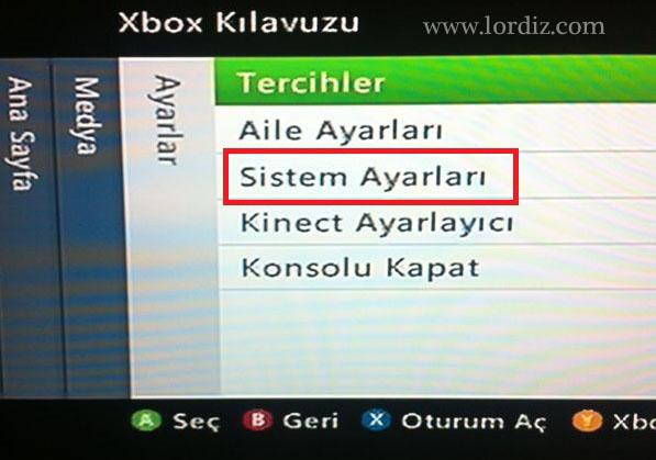 "Xbox 360 ""This game does not support PAL-50"" Hatası ve Çözüm - oyun-indir"