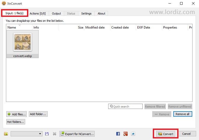 Webp Uzantılı Resim Dosyalarını Farklı Formatlara Dönüştürme - internet-siteleri, download-yazilari