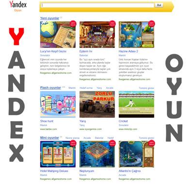 Yandex Oyun Kataloğu Hizmete Açıldı