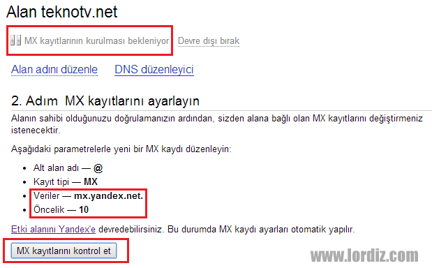 Alan Adı Destekli Ücretsiz Kurumsal Yandex Mail - web-master, internet-siteleri