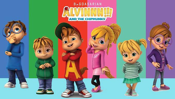 """Yeni Nesil """"Alvin ve Sincaplar"""", Kidz Tv'de - basin-medya"""