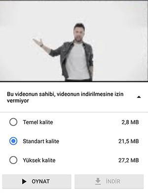 """Düşük Mobil Veri Kullanımı için """"Youtube GO"""""""