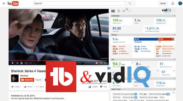 TubeBuddy ve vidIQ Vision ile Detaylı Youtube İstatistikleri ve Öneriler