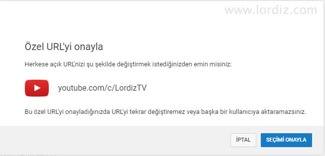 Youtube Kanalına Özel Kanal İsmi Alma! Ücretsiz Özel URL Oluşturma! - internet-siteleri
