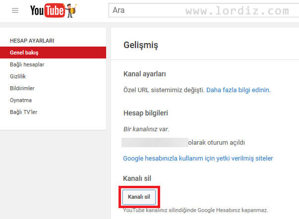youtube kapat2 zpsdfqcwvlp - Youtube Hesap Kapatma - Üyelik Silme