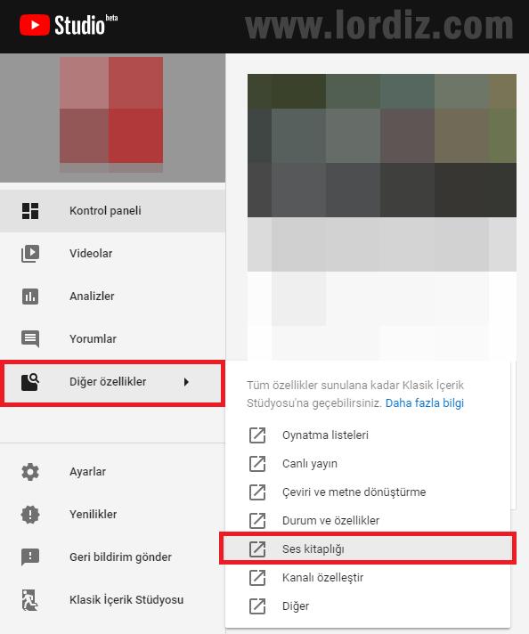 youtube telif kontrol1 - Youtube'da Telif Hakkı Koruması Bulunan Müzikleri Sorgulama